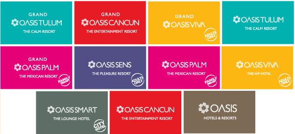 oasis hotels logos
