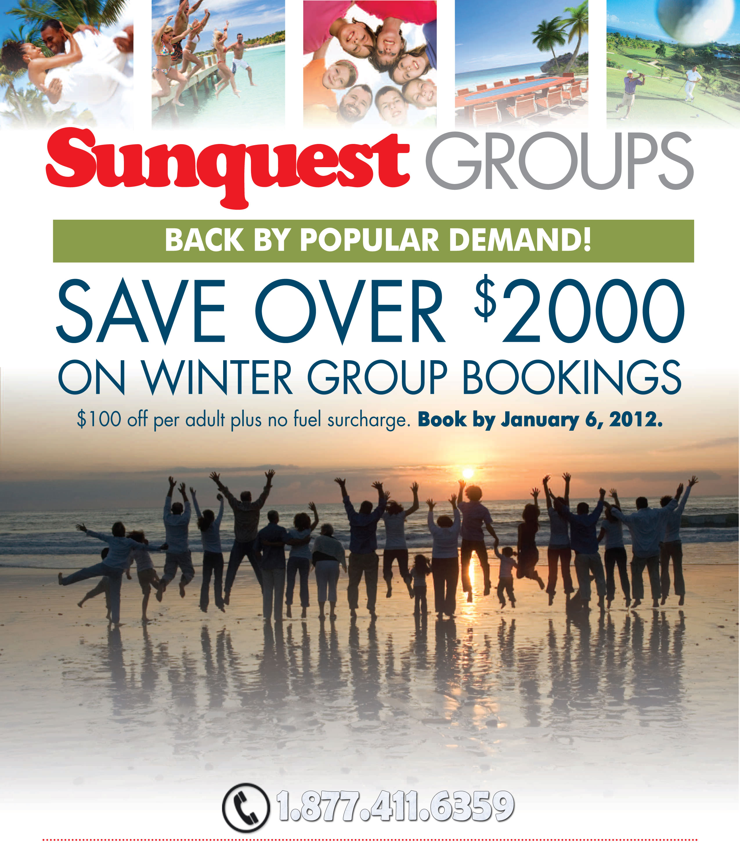 Sunquest Vacations Winter Group Deals
