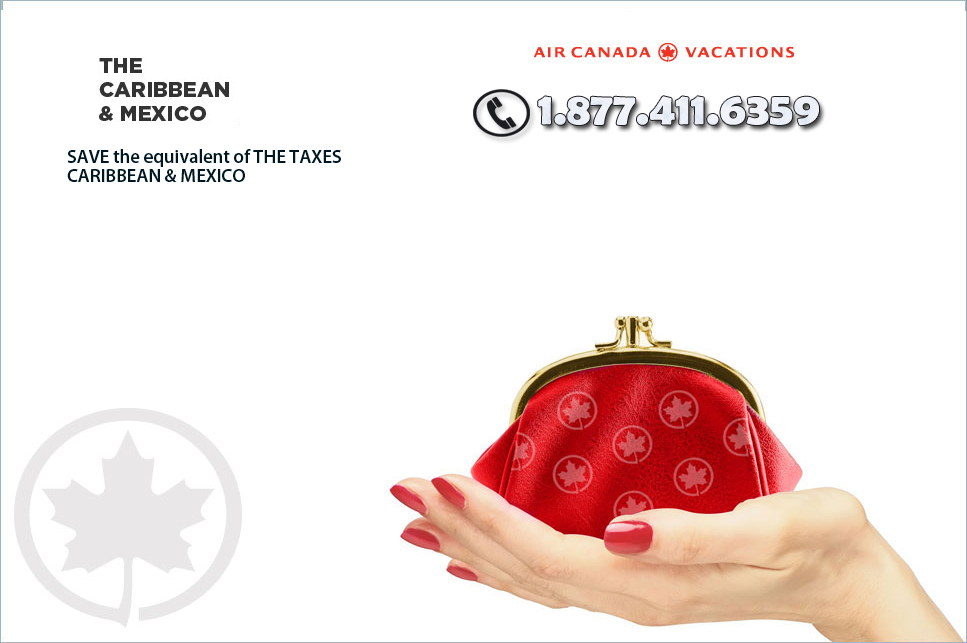 Air Canada Vacations Mexico and Carribean Savings and Deals!