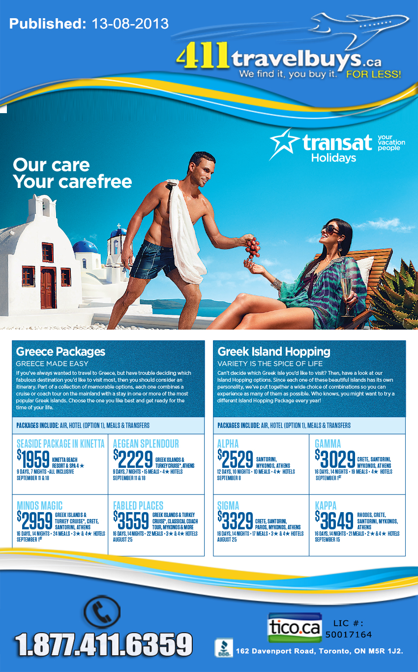 Greece Island Deals