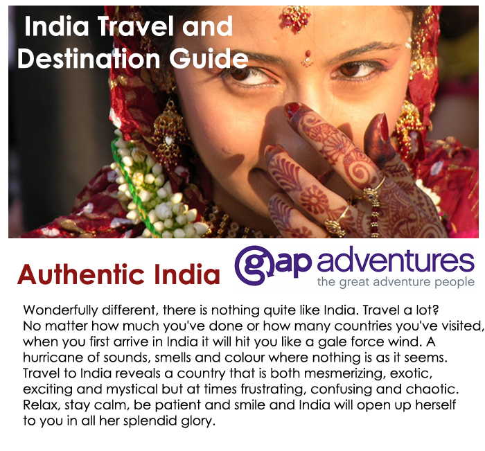 GAP Authentic India Vacation!