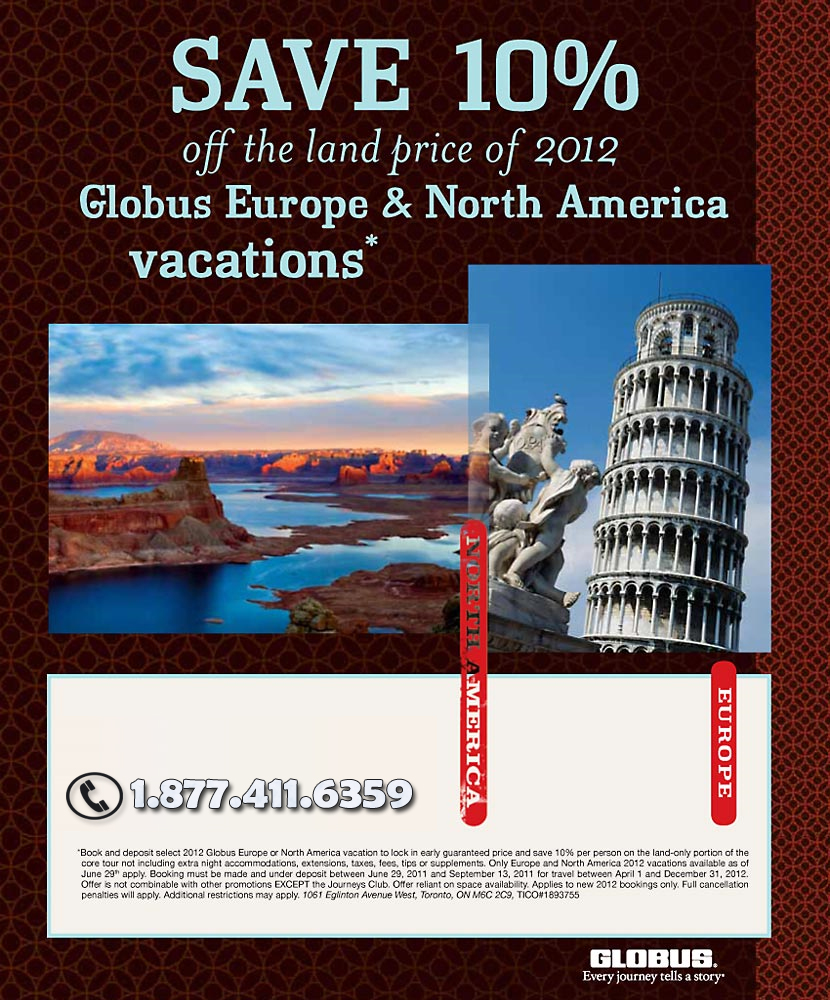 Cheap Vacations Not In Usa: North America Tour Deals