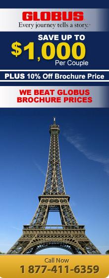 Cheap Globus Tour Deals