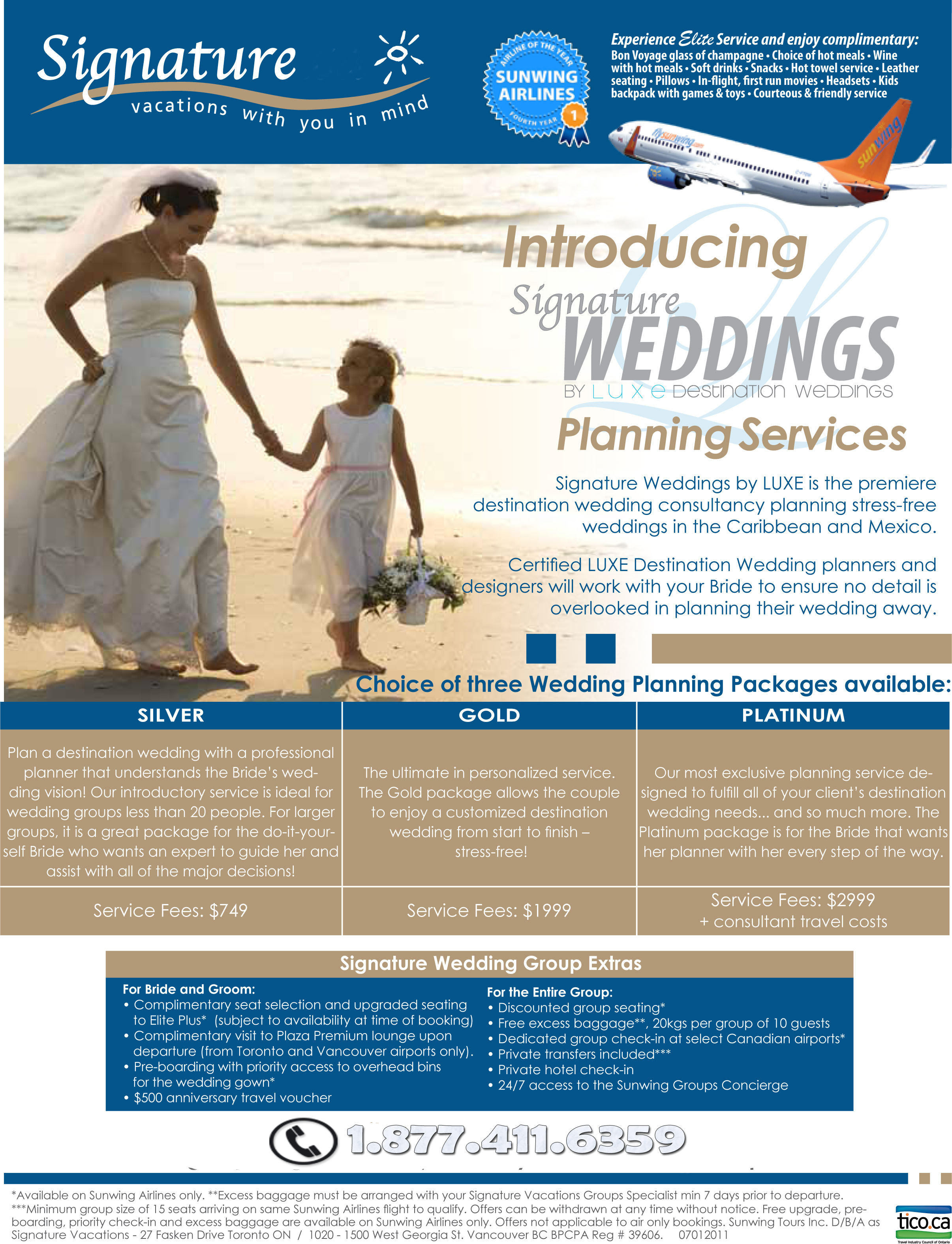 Signature Vacations Wedding Planners