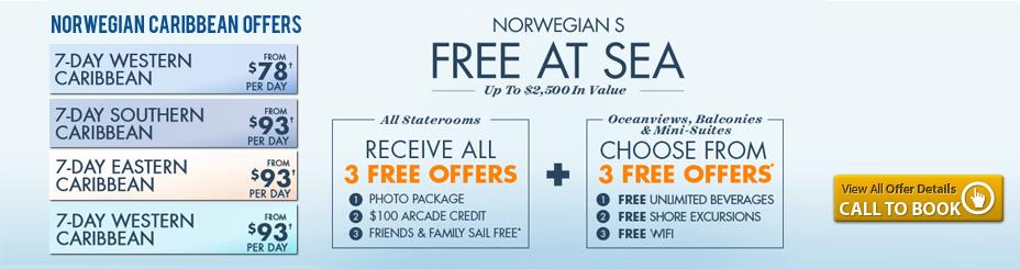 Norwegian Caribbean Offers